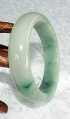 """Jade Market"" Genuine Jadeite Bangle Bracelets"