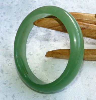 Chinese Nephrite Jade Bangle Bracelet 61mm (H-51)