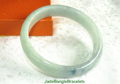 """My Secret"" Burmese Jadeite Bangle Bracelet 62.5mm (JBB3260)"