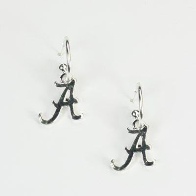Earrings - Alabama Script A - SALE