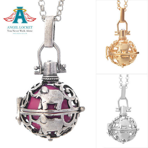 Elephant Angel Locket - SALE