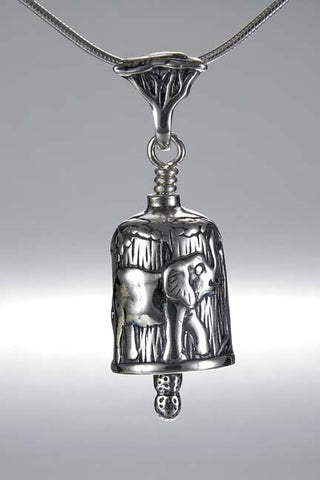 Elephant Bell for Necklace or Bracelet - SALE