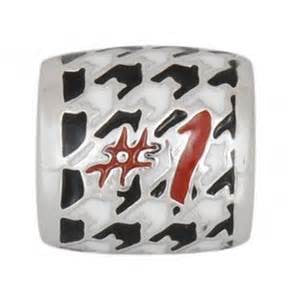 #1 Houndstooth bead