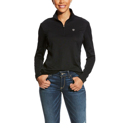 Ariat Sunstopper 1/4 Zip Bit Stripe