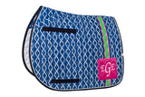 Lettia Preppy Collection Saddle Pads