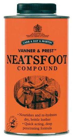 Carr and Day and Martin Horse Vanner and Prest Neatsfoot Compound-500 ml