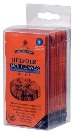 Carr and Day and Martin Belvoir Tack Cleaner Wipes-15 wipes/box