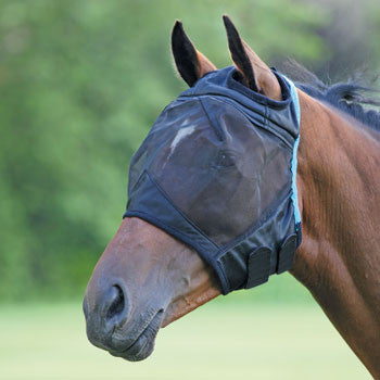 Shires Fine Mesh Fly Mask W/Out Ears