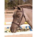 HDR Club Plain Raised Snaffle Bridle