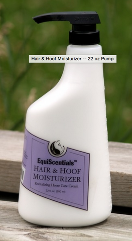 EquiScentials Hair & Hoof Moisturizer -- 22 oz Pump