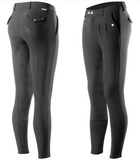 Horze Grand Prix Men's Silicone Full-Seat Breeches