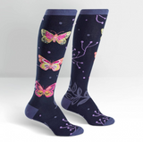 Madame Butterfly Knee High Sock