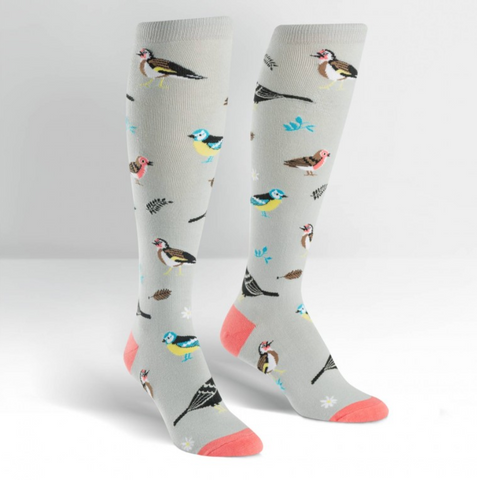 Birds of a Feather Knee High Socks