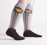 STRETCH-IT™ Ostrich Knee High Socks