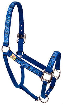 Blue or Red Bandana Breakaway Halter