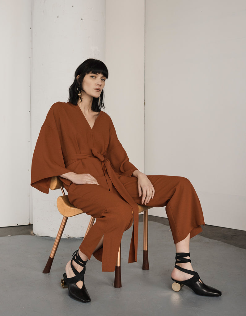 The Erma Jumpsuit by Cienne