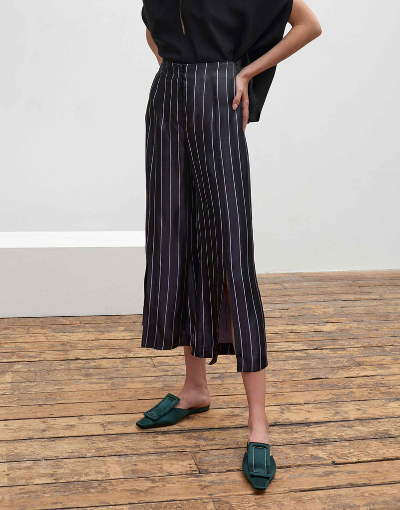 SS18 Agnes Pant Stripe SAMPLE by Cienne