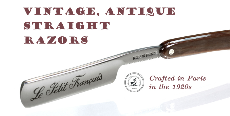 Vintage, Antique French Razors