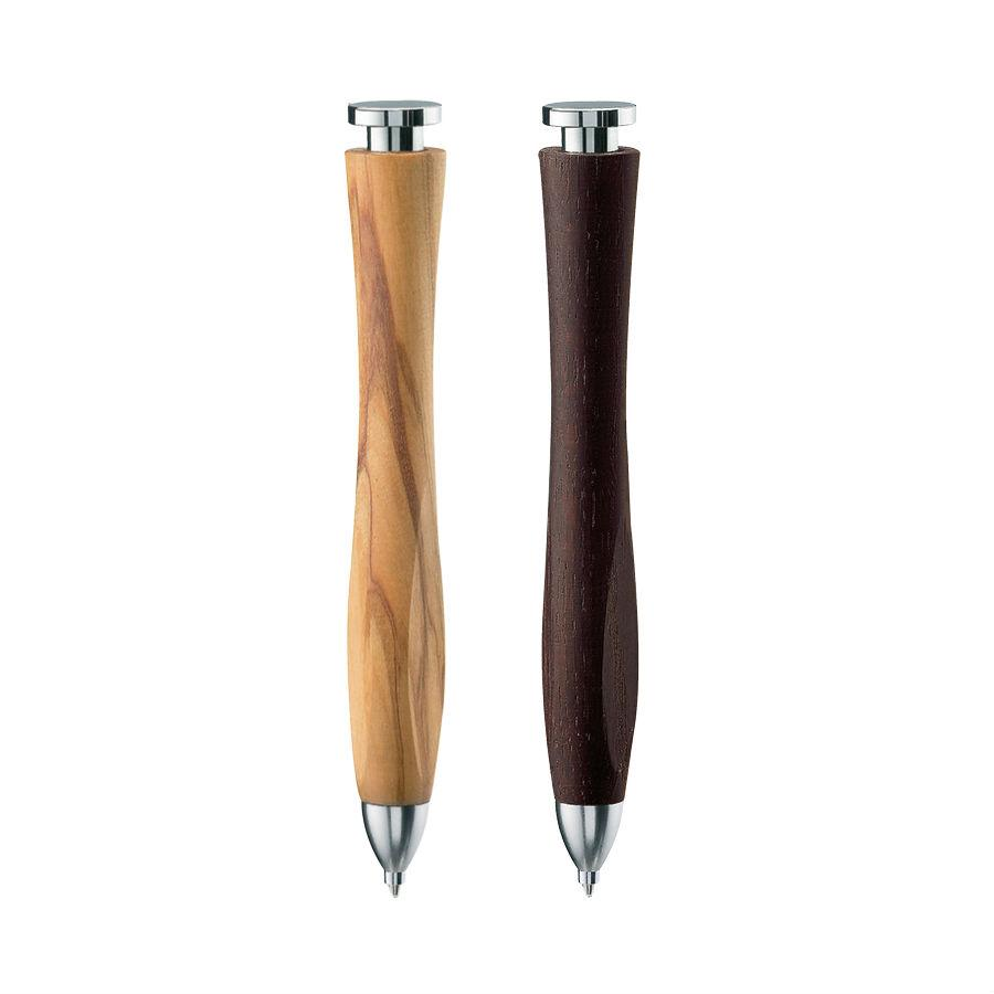 e+m Holzprodukte 'Whale-twist' Wooden Ballpoint Pen Ball Point Pen e+m Holzprodukte