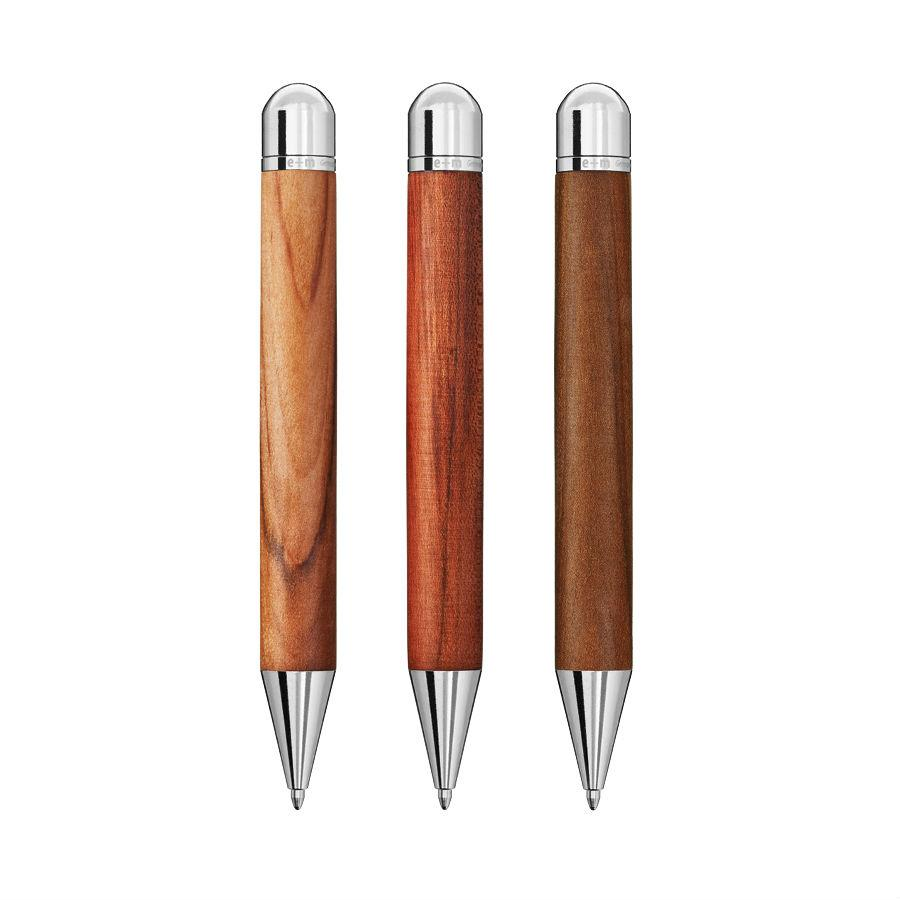 e+m Holzprodukte 'Wood-in-Wood' Ballpoint Pen in Wooden Case Ball Point Pen e+m Holzprodukte