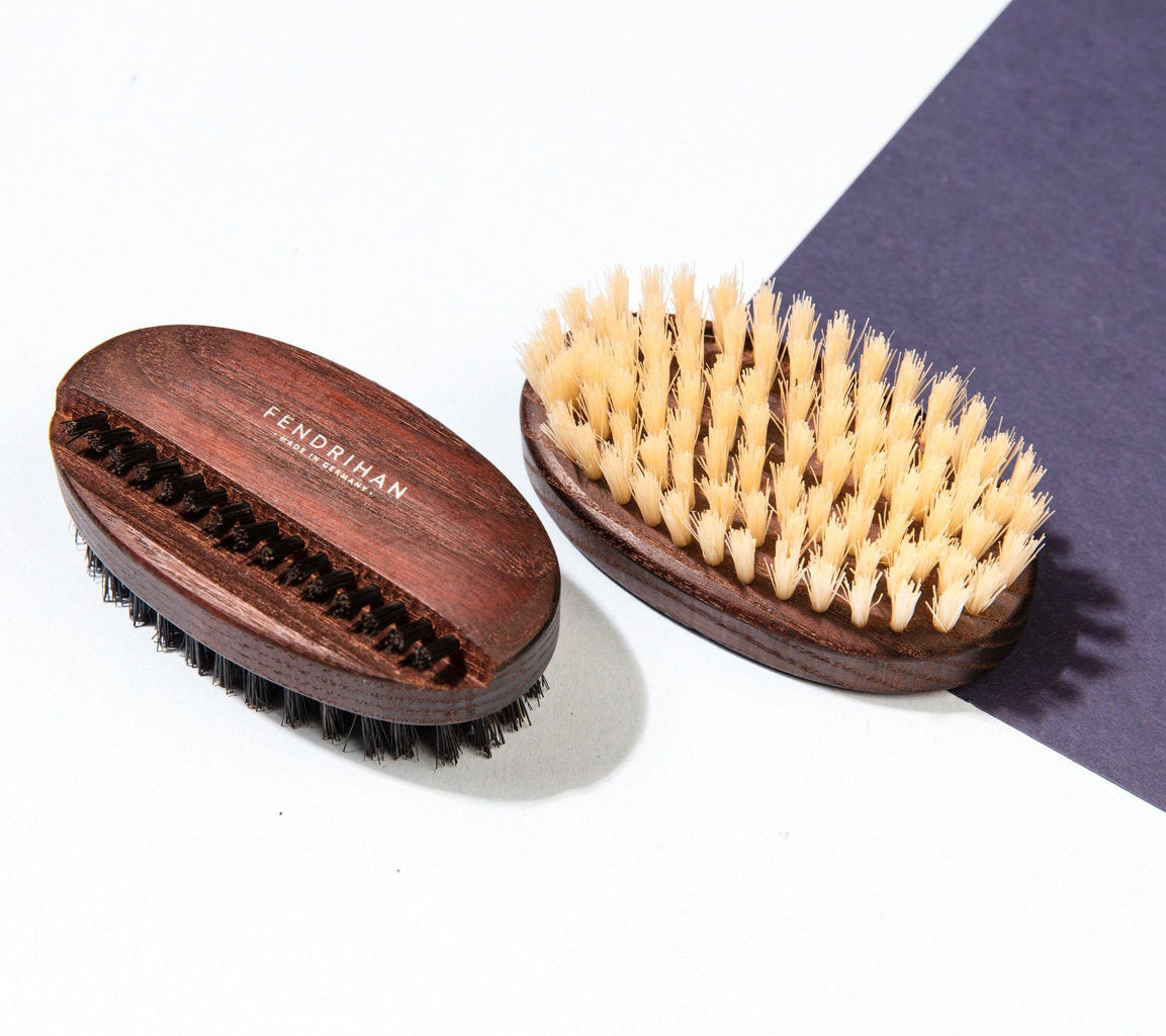 Thermowood Boar Bristle Nail Brush with Light or Dark Bristles - Made in Germany Nail Brush Fendrihan