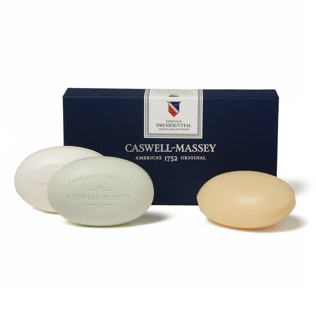 Caswell-Massey Heritage Presidential Three Soap Set Body Soap Caswell-Massey