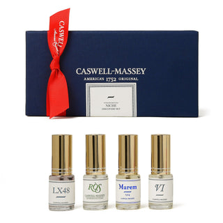 Caswell-Massey 4-Piece Niche Fragrance Discovery Cologne Sampler Men's Fragrance Caswell-Massey