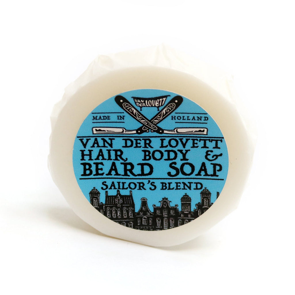 Van Der Lovett Hair, Body and Beard Shampoo Body Soap Van Der Lovett Sailor's Blend