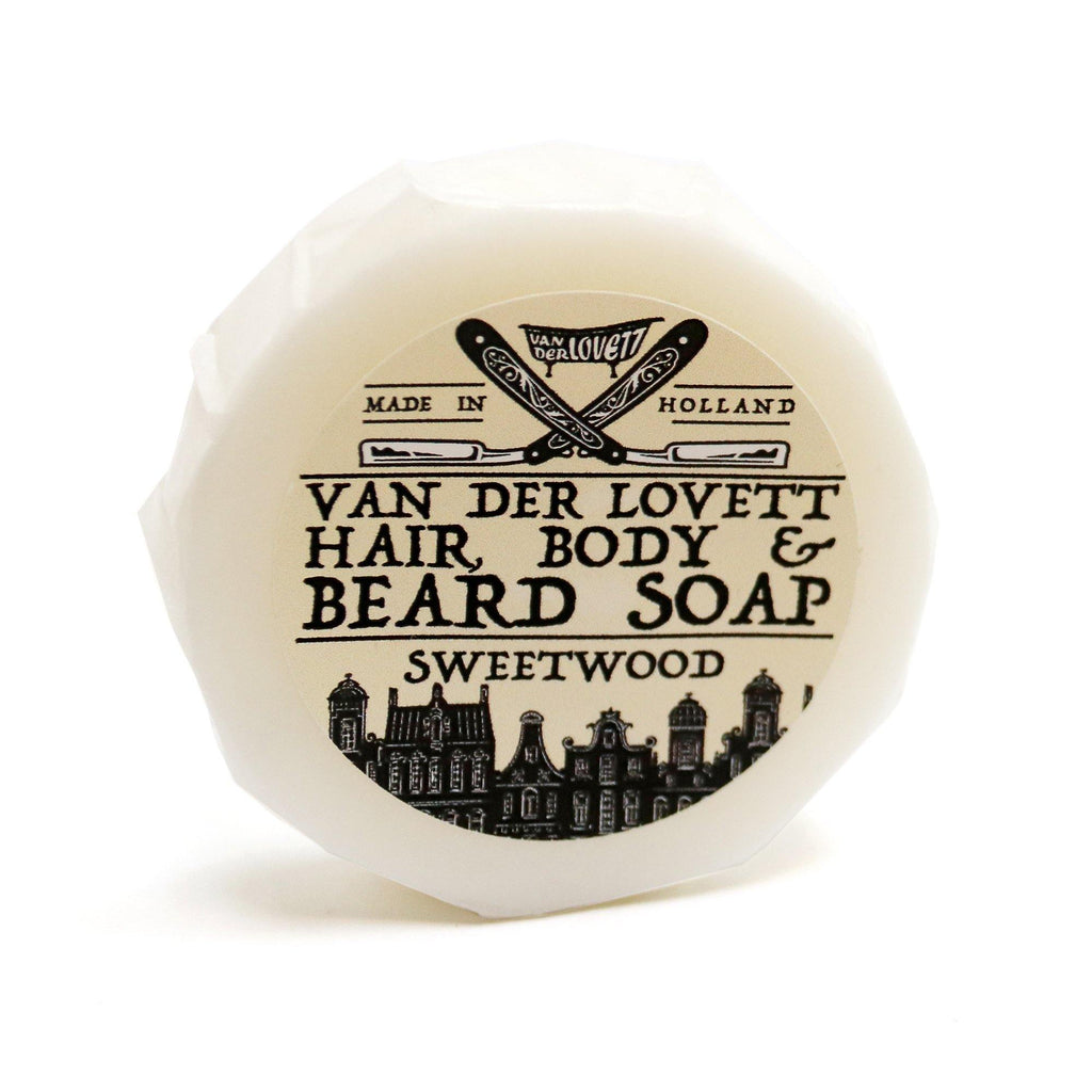 Van Der Lovett Hair, Body and Beard Shampoo Body Soap Van Der Lovett Sweetwood