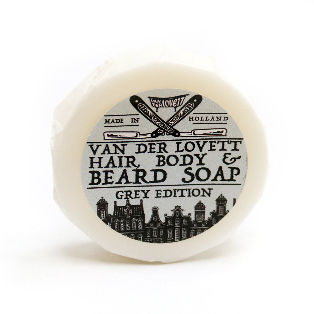Van Der Lovett Hair, Body and Beard Shampoo Body Soap Van Der Lovett Grey Edition