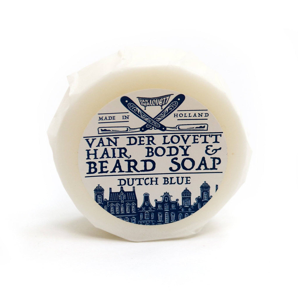 Van Der Lovett Hair, Body and Beard Shampoo Body Soap Van Der Lovett Dutch Blue