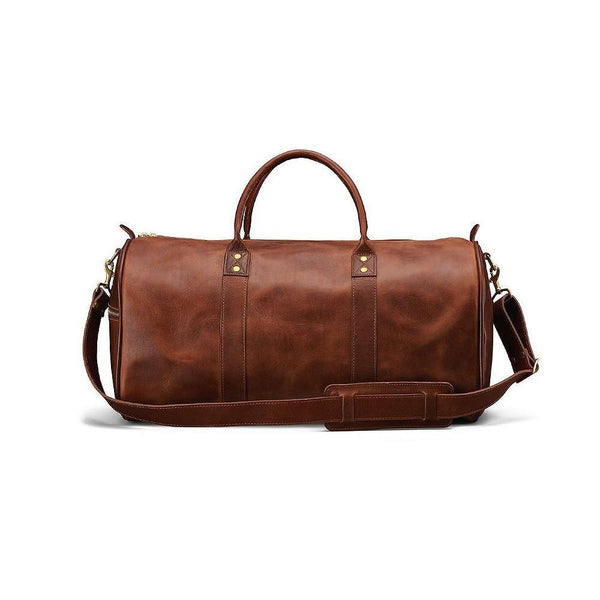J. W. Hulme Co. Continental Duffle in American Heritage Leather - Fendrihan Canada - 2