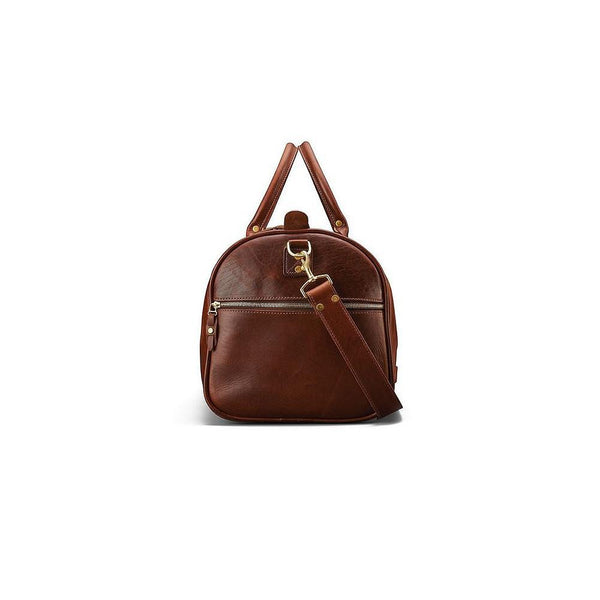 J. W. Hulme Co. Continental Duffle in American Heritage Leather - Fendrihan Canada - 3