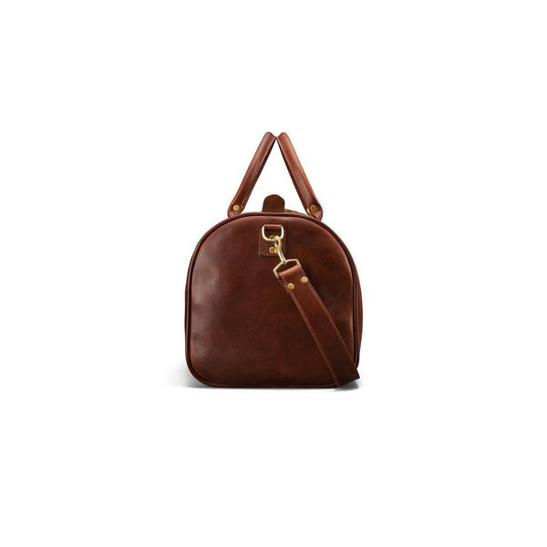 J. W. Hulme Co. Continental Duffle in American Heritage Leather - Fendrihan Canada - 4