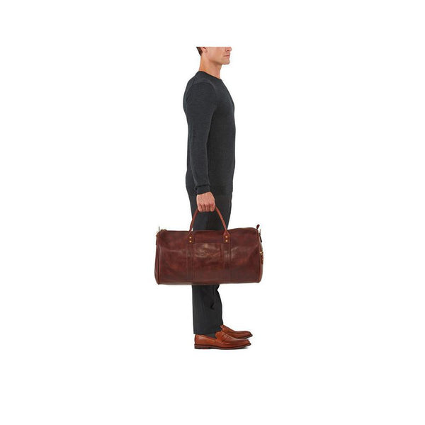 J. W. Hulme Co. Continental Duffle in American Heritage Leather - Fendrihan Canada - 6