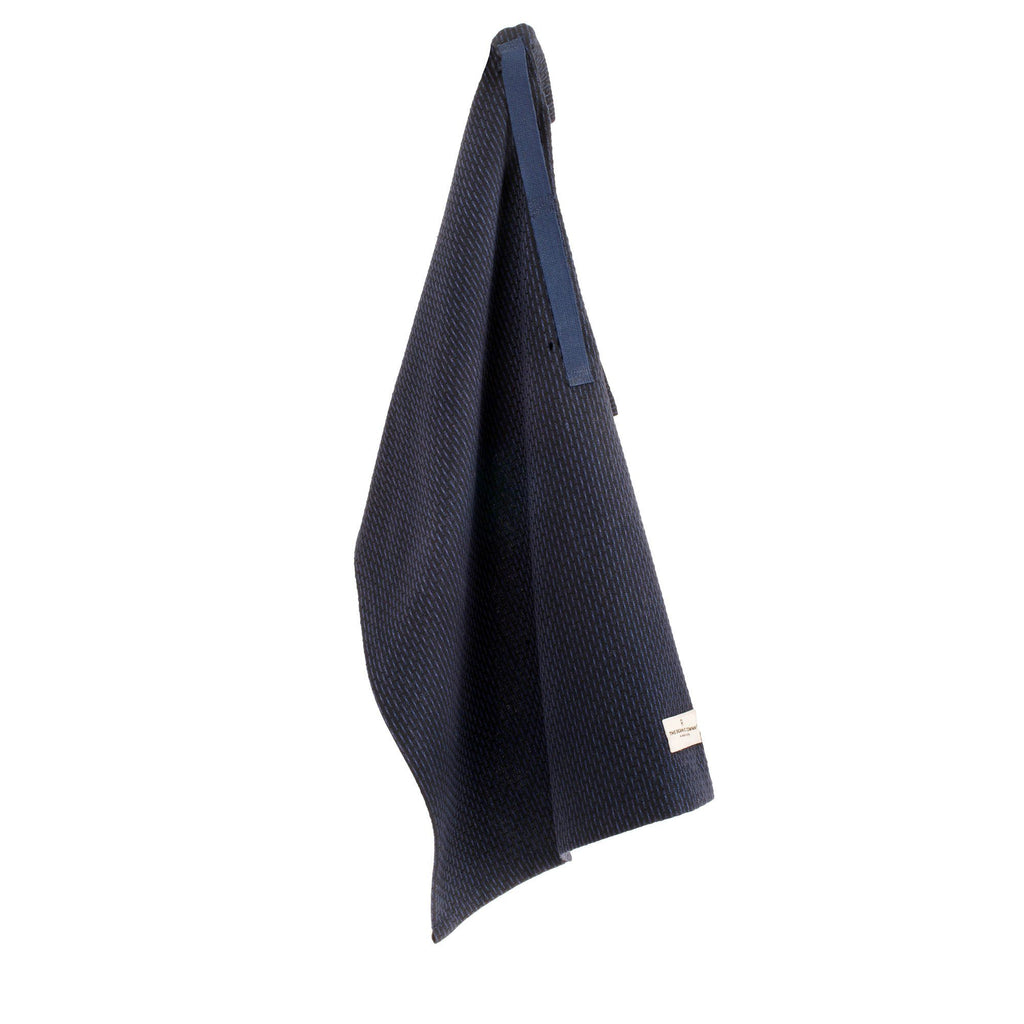 The Organic Company Little Towel, Dark Blue Towel The Organic Company