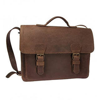 Ruitertassen Classic 2140 Leather Messenger Bag, Ranger Brown Leather Messenger Bag Ruitertassen