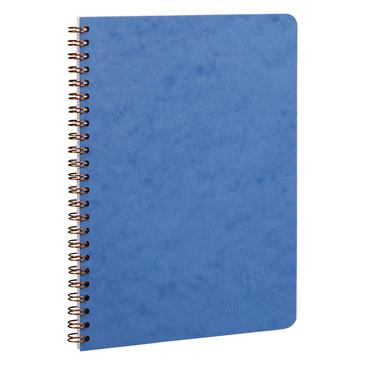 Clairefontaine Basics 6 x 8 Wirebound Notebook, Lined Notebook Other Blue