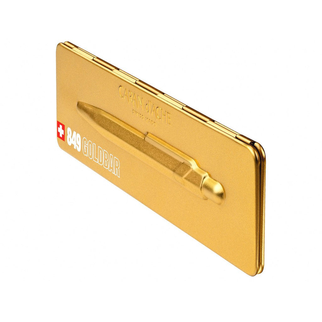 Caran d'Ache Goldbar Ballpoint Pen with Holder Ball Point Pen Caran d'Ache