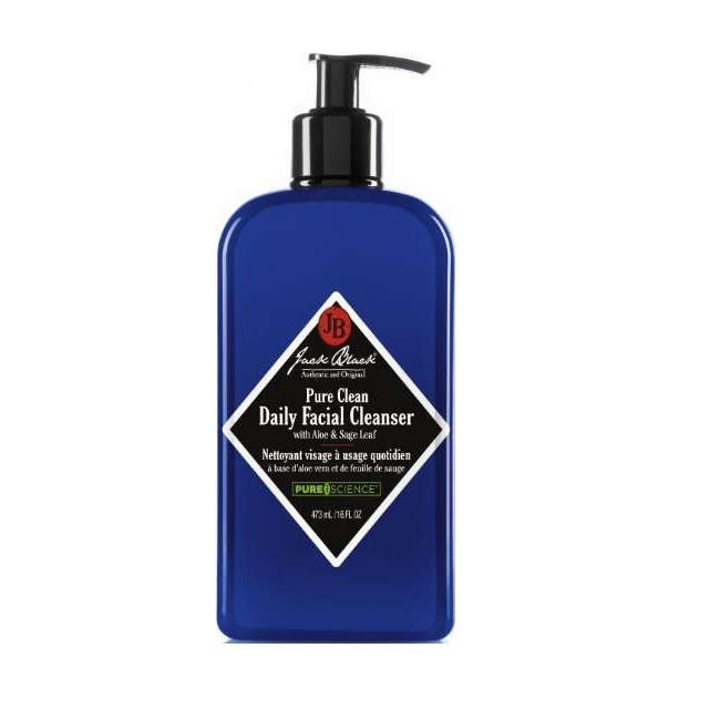 Jack Black Pure Clean Daily Facial Cleanser, 16 oz Facial Care Jack Black