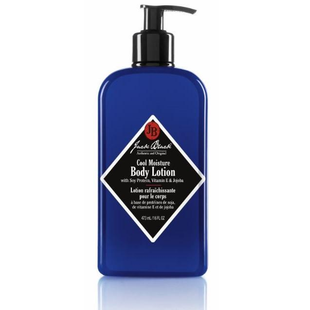 Jack Black Cool Moisture Body Lotion, 16 oz Men's Grooming Cream Jack Black