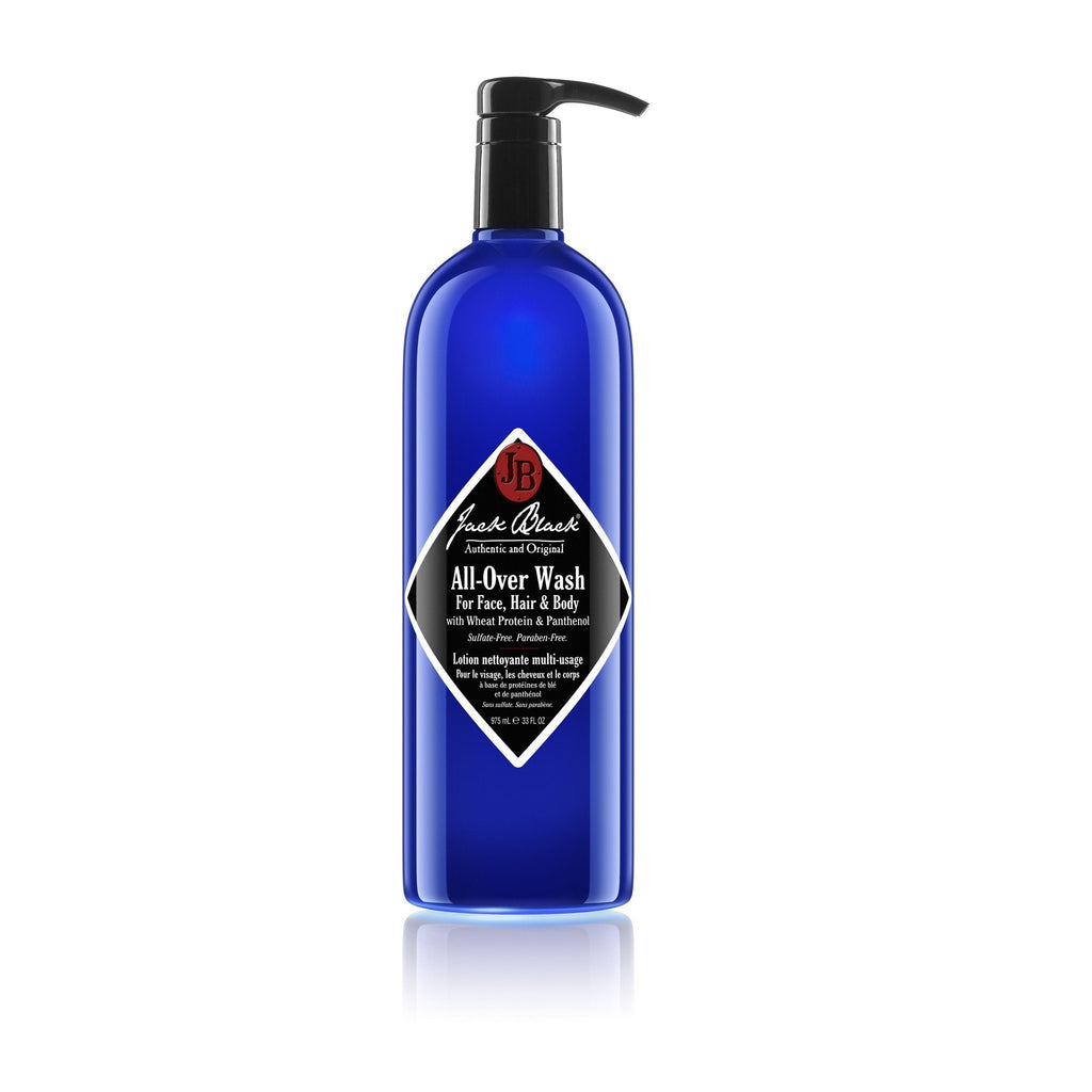 Jack Black All-Over Wash for Face, Hair and Body Men's Body Wash Jack Black 33 fl oz (975 ml)