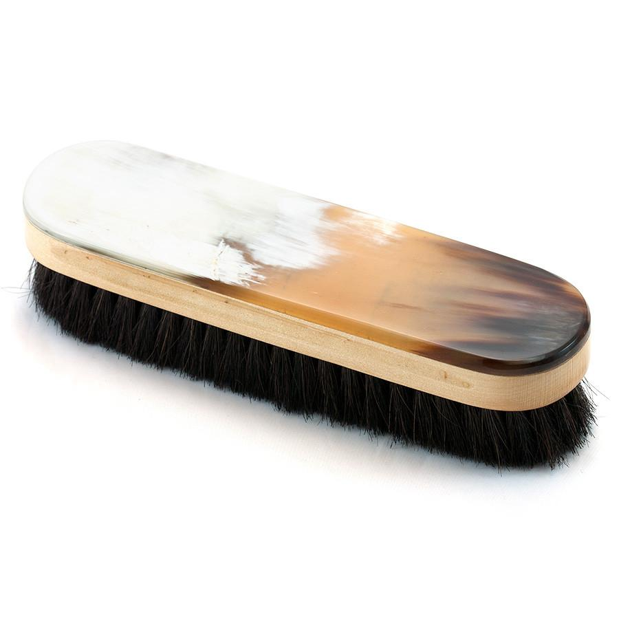 Abbeyhorn Oxhorn Rectangular Clothes Brush Clothes Brush Abbeyhorn