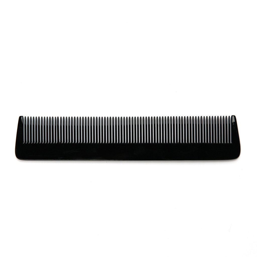 Fendrihan Hand-Finished Fine-Tooth Pocket Comb, Black Comb Fendrihan