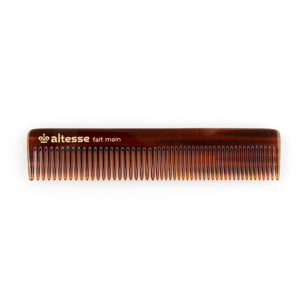 Altesse Handmade Imitation Tortoiseshell Detangling Comb with Case - Made in France Comb Altesse