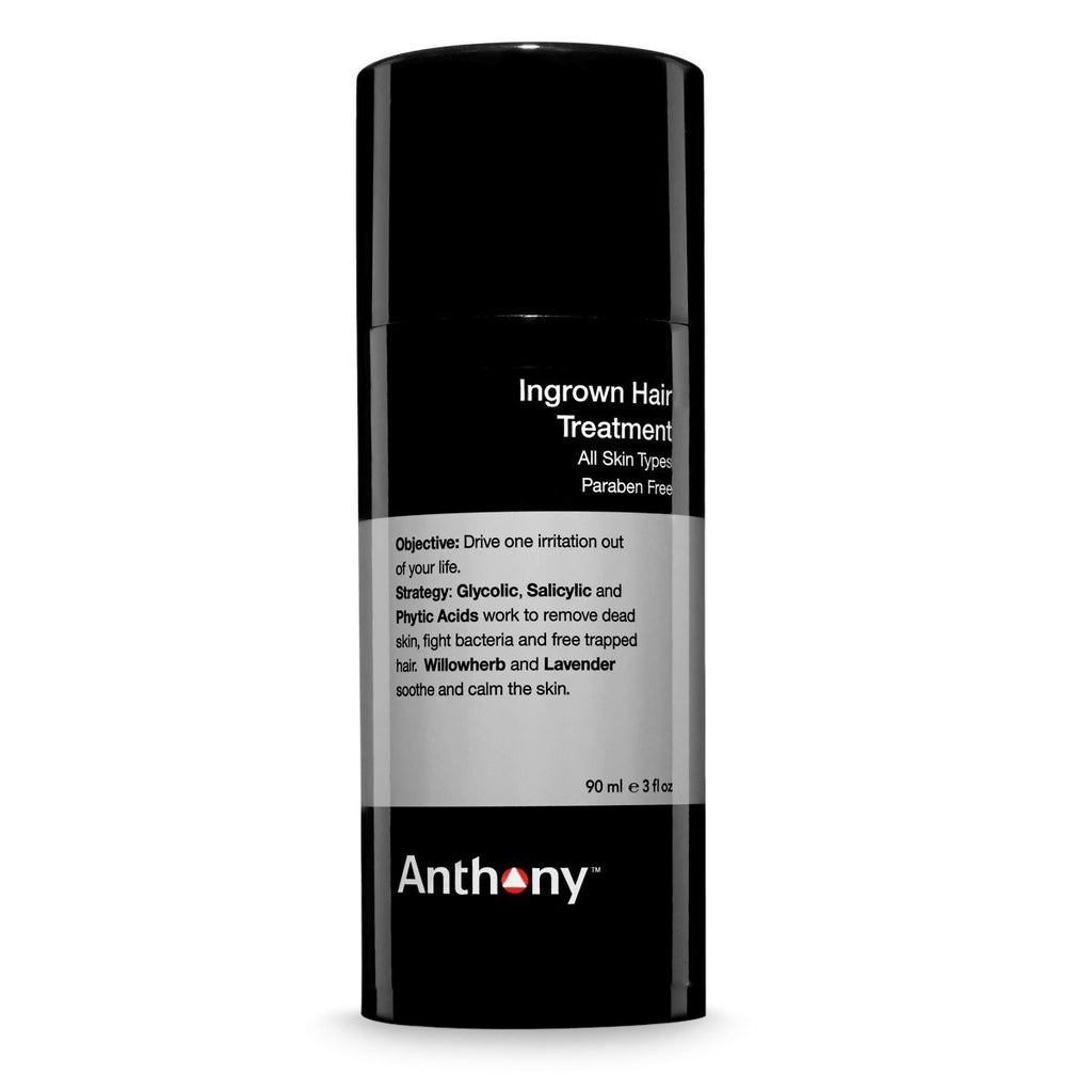 Anthony Ingrown Hair Treatment Aftershave Remedies Anthony