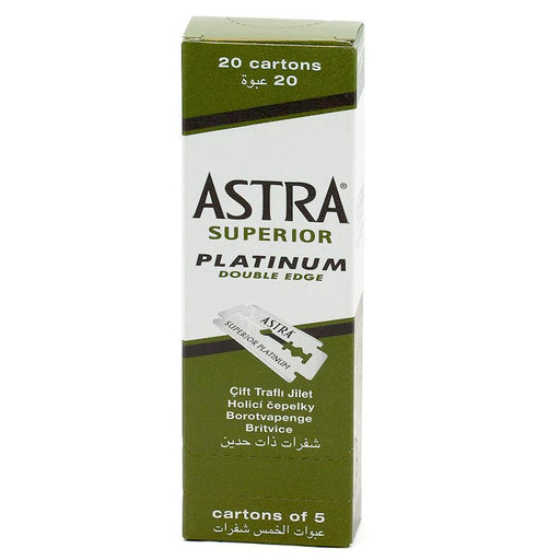 100 Astra Double-Edge Safety Razor Blades - Fendrihan Canada