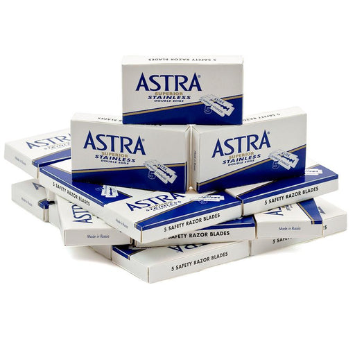 100 Astra Stainless Double-Edge Safety Razor Blades - Fendrihan Canada