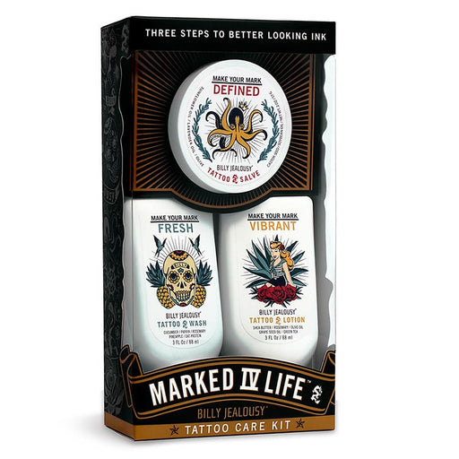 Billy Jealousy Marked IV Life Tattoo Care Kit - Fendrihan Canada - 1