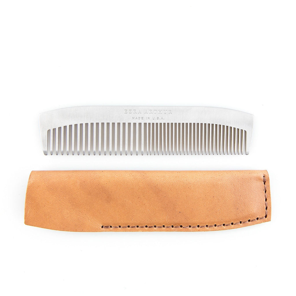 Ezra Arthur No. 1827 Pocket Comb and Sleeve
